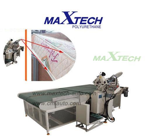 MAX- A-TEM Auto Mattress Tape Edge Machine